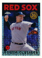 ROGER CLEMENS 2021 TOPPS SILVER PACK 1986 CHROME REFRACTOR #86BC-40 RED SOX
