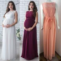 Full Dress Lace Block Maternity Balls Evenings Cocktails Wedding 6 8 10 12 14 16