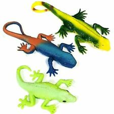 Set of 3 Stretchy Lizard Toys - Assorted Lizard Designs - Party Favours Sensory
