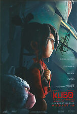 Art Parkinson/Travis Knight Signed Kubo And The Two Strings 12x8 Photo AFTAL