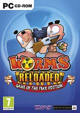 Worms Reloaded  PC Brand New Sealed Fast Shipping