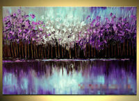 CHOP103  charming hand-painted modern abstract art oil painting on canvas