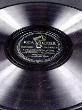 Victor 20-2402 Perry Como SO FAR / A FELLOW NEEDS A GIRL  78 V
