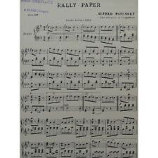 PATUSSET Alfred Rally-Paper Galop Orchestre partition sheet music score