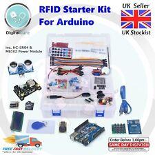 RFID Starter Kit for Arduino UNO Ultrasonic Joystick Servo Sensors LCD +Tutorial