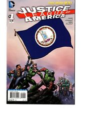 JUSTICE LEAGUE OF AMERICA #1 VIRGINIA FLAG COVER VARIANT, DC