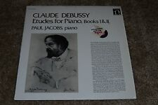 Claude Debussy~Etudes for Piano, Books I & II~Paul Jacobs~Nonesuch H-71322