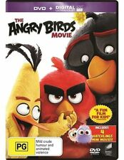 The Angry Birds Movie | UV - (DVD 2016 Region 2,4,5) Kids Modern Classic  NEW
