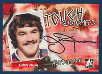 JIMMY MANN 05-06 IN THE GAME TOUGH CUSTOMERS 2005-06 AUTOGRAPH  15883