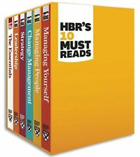 NEW-HBR's 10 Must Reads Boxed Set (6 Books) by Harvard Business Review