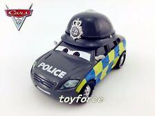 Mattel Disney Pixar Cars Siren Carbari Police UK Toy Car 1:55 Loose New In Stock