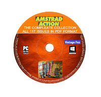 Amstrad Action Complete Magazine Collection PDF All Issues CPC+/464/6128/GX4000