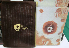 2017 Starbucks Planner Brown Pouch *BIG* sealed  new on hand ready to ship