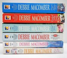 Lot of 6 Paperback Debbie Macomber Summer on Blossom A Good Yarn Fairy Tale Wed