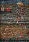 Hand-knotted Rug (Carpet) 2'X3', Gabeh mint condition
