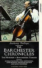 THE BARCHESTER CHRONICLES - 2 VHS BOX SET - BBC 1997 Anthony Trollope VGC