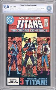 Tales of the Teen Titans #44 CBCS 9.6 (Not CGC) 1st app Nightwing and Jericho
