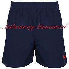 Ralph Lauren Polo Navy Blue Red Swim Shorts Medium 32 - 34w