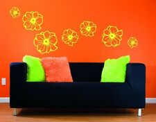 Flowers - highest quality wall decal stickers