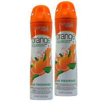 California Scents Orange Squeeze 3.5 Oz Air Freshener Spray (2)
