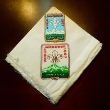 12th World Jamboree - Participant Patch - Ladies Scarf (used as a neckerchief)