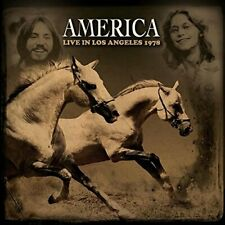 America - Live In Los Angeles 1978 - CD - LW2033 - NEW