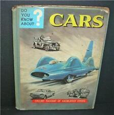 Old Collins book - do you know about cars.