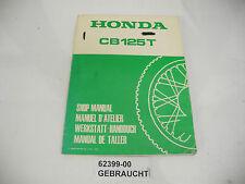 Werkstatthandbuch Shop manual Honda CB125T BJ.77-78 gebraucht used