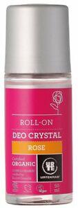 Organic Rose Crystal Deodorant Roll On - 50ml