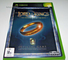 Lord of the Rings Fellowship of the Ring Xbox Original PAL *Complete*