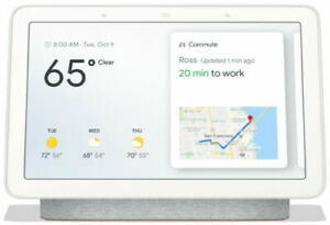 NEW Google Nest home Hub Smart Display with Google Assistant - Charcoal