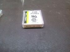 Littelfuse 273 Micro Fuse 1A Package of 5 Pcs  NEW OLD STOCK