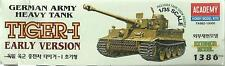ACADEMY 1:35 KIT CARRO ARMATO TIGER I EARLY VERSION GERMAN ARMY TANK  ART. 1386