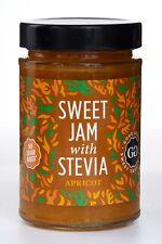 Good Good Sweet Jam With Stevia Apricot 330g Sugar Free Jam Low Calories Vegan