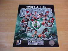 Boston Celtics Greats Officially LICENSED 8X10 Photo FREE SHIPPING 3/more