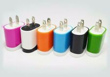 Wall Charger Dual Colors 5V 1A  USB Home AC Power Adapter