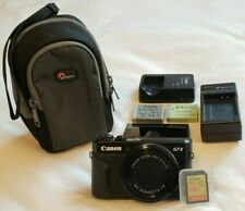 Canon PowerShot G7 X Mark II 20.1 MP Camera + 128GB SD CARD + 2 BATTERIES