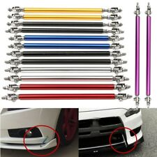 Adjustable Front/Rear Bumper Lip Splitter Rod Strut Tie Bar Support Universal