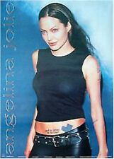 ANGELINA JOLIE ~ BLACK TATTOO 24x34 POSTER Pinup Celebrity NEW/ROLLED!