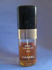 Vintage Chanel No 5 Spray Cologne 3.2 oz Used About 3/4 Full RARE