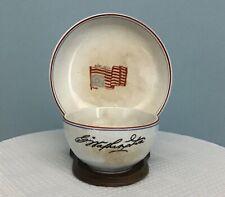 Rare 1776-1876 Centennial Pottery Tea Cup Bearing George Washington's Signature