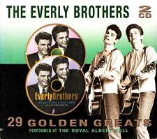 THE EVERLY BROTHERS: 29 Golden Greats- Best Of 2 CD- LIVE At Royal Albert Hall