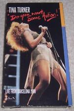 Tina Turner: Live from Barcelona 1990 (Do You Want Some Action) VHS Video