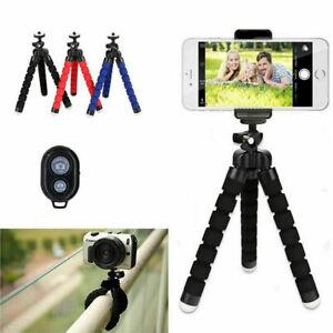 Phone Tripod - Octopus style Flexible Stand Holder Phone/Camera/GoPro Uk Seller