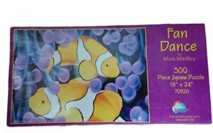 Sunsout 300 Piece Jigsaw Fan Dance Fish Puzzle - New Sealed