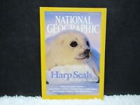 """National Geographic March 2004 """"Harp Seals: The Hunt for Balance"""" Paperback Mag"""