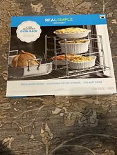 Real Simple Solutions 3 Tier Adjustable Oven Rack New Collapsible
