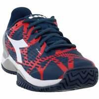Diadora Speed Blushield 2 AG  Casual Tennis  Shoes - Navy - Mens