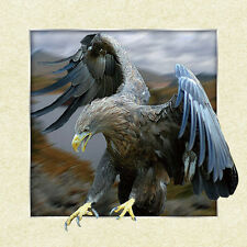 Ferocious Eagle Big Lenticular 3D Picture Animal Poster Painting Wall Art Decor
