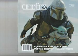 MANDALORIAN THE STAND MANK RAISED BY WOLVES CINEFEX MAGAZINE FEB 2021 ISSUE #172